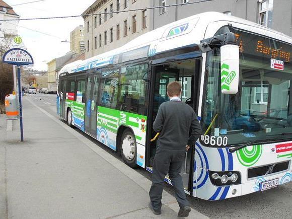 So sehen die neuen Volvo-Hybridbusse der Wiener Linien aus