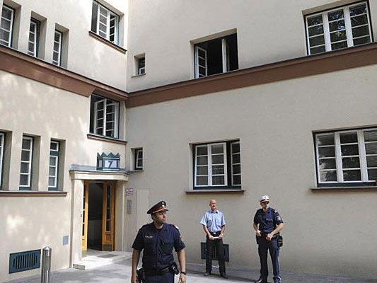 In diesem Gemeindebau in Wien-Meidling geschah der Doppelmord