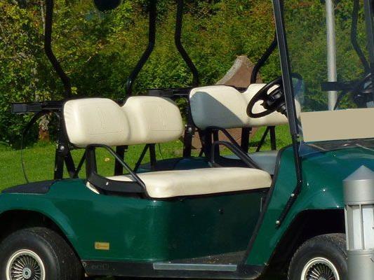 Mit einem gestohlenen elektrischen Golfcaddy wurde das Trio in Donaustadt erwischt