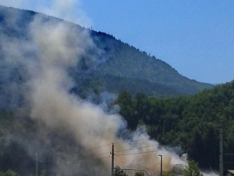 In Oberösterreich stand am Dienstag ein Hotel in Flammen.