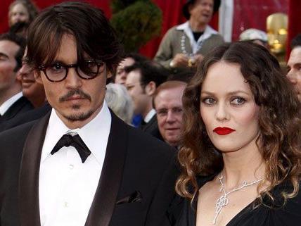 Kein Paar mehr: Johnny Depp und Vanessa Paradis