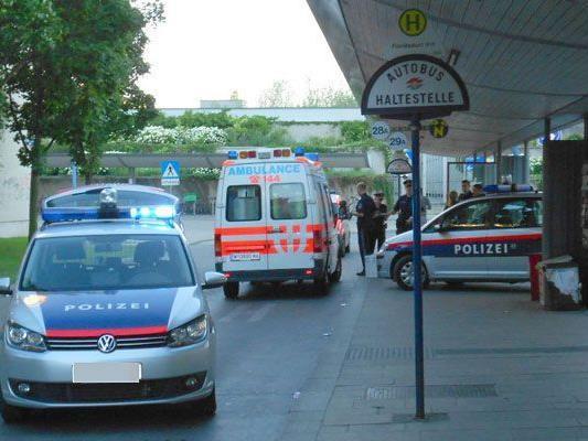 Der Einsatz in Wien-Floridsdorf