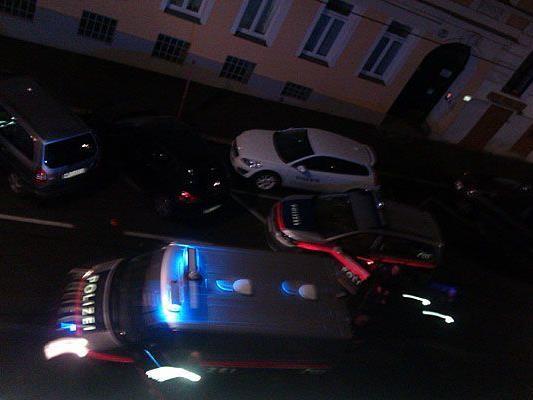 In Wien-Ottakring gab es einen nächtlichen Einsatz mit Blaulicht