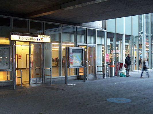 In der U6-Station Handelskai wurde ein mutmaßlicher Drogendealer festgenommen