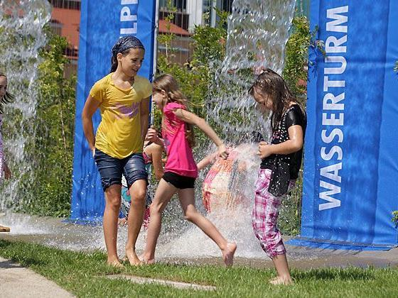 Eine Riesenhetz für Kinder verspricht das Wasserfest in Favoriten