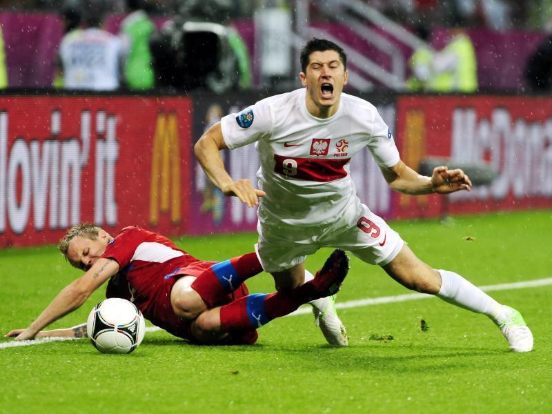 Polen gegen Tschechien gestrauchelt