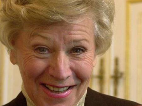 Waltraud Haas feiert ihren 85. Geburtstag