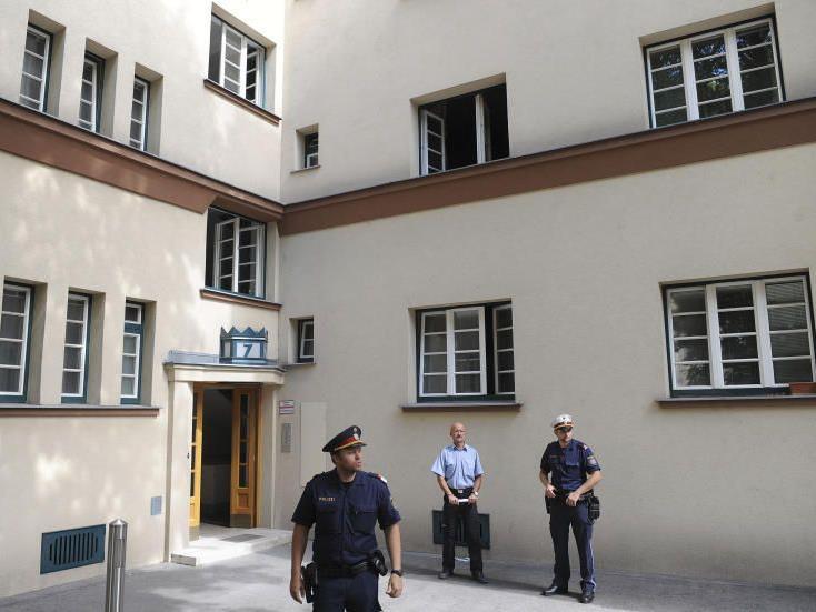 Zwei Frauenleichen wurden in diesem Haus in Meidling aufgefunden.