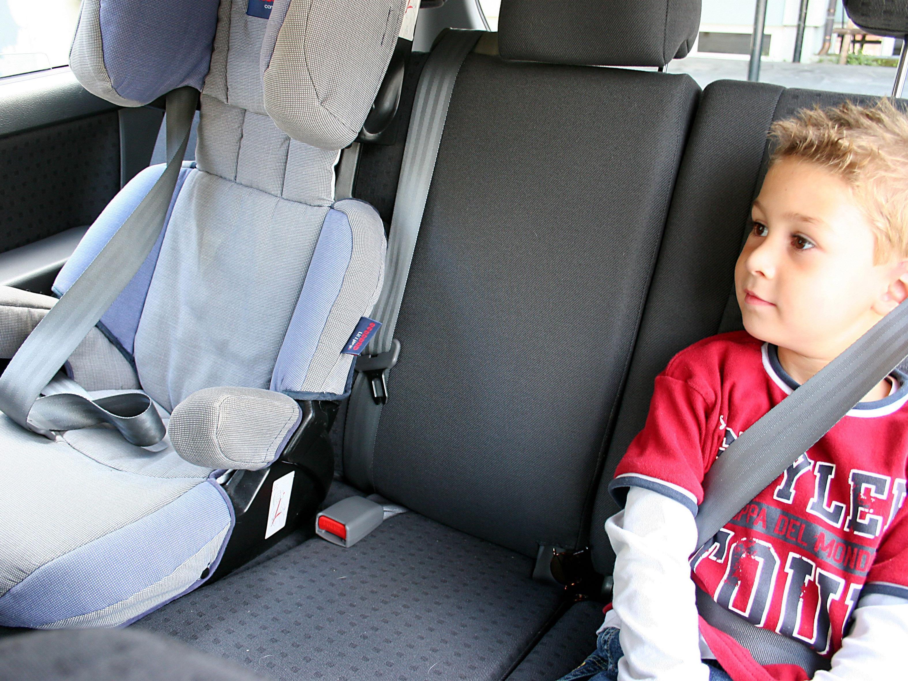 Die Kinder konnten wohlauf aus dem heißen Auto befreit werden.