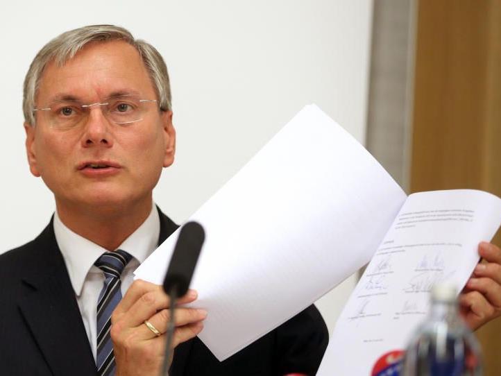 Gesundheitsminister Stöger zeigte sich von der Einigung angetan.