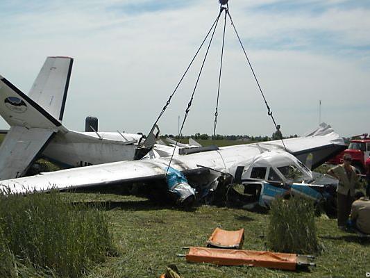 Der oberösterreichische Fallschirmspringer Fabian Raidel überlebte den Flugzeugabsturz mit einer Schulterverletzung.