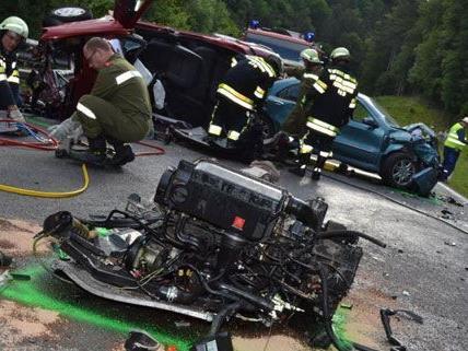 Am Donnerstag kam es zu einem schweren Verkehrsunfall auf der B21.