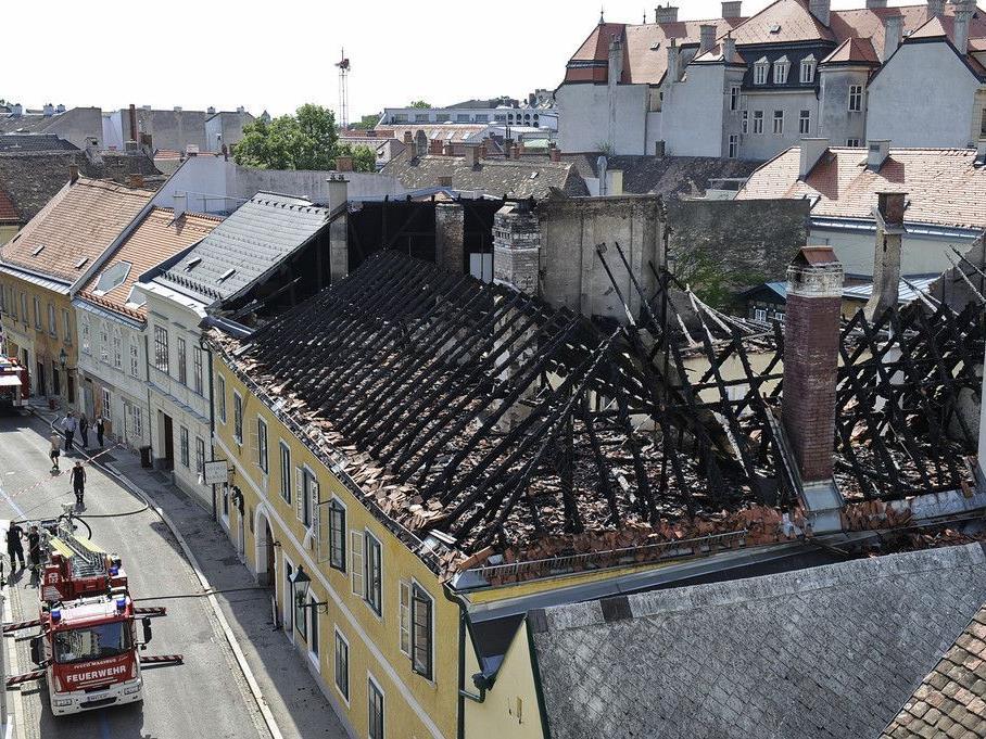 Großbrand in der Innenstadt von Baden: Brandursache ist geklärt