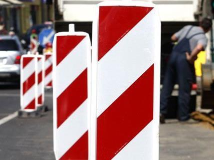 Sanierungsarbeiten sorgen für Verkehrsbehinderungen in ein paar Bezirken in Wien