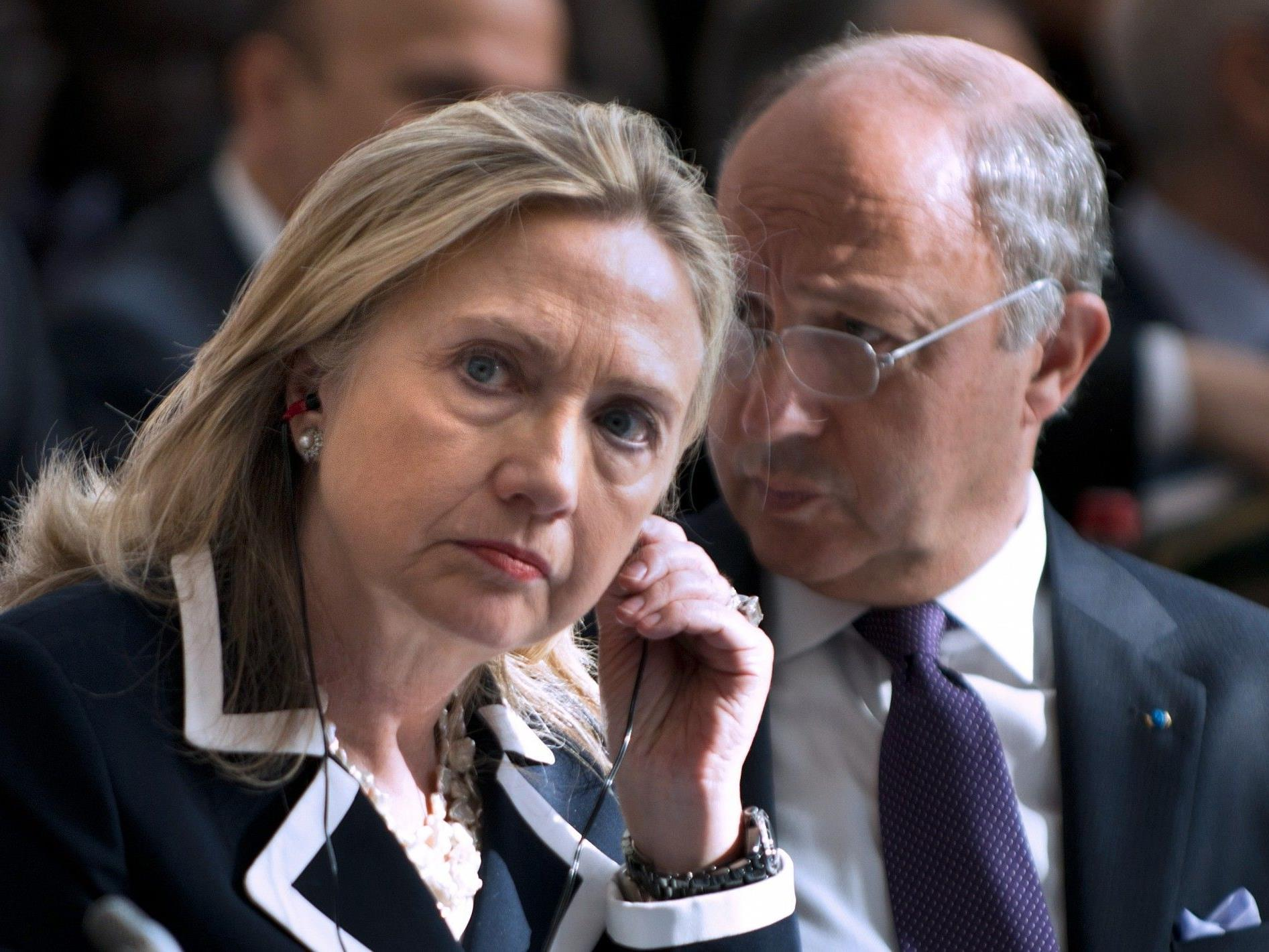 "Moskau bezeichnet Clintons Kritik als ""unangebracht""."