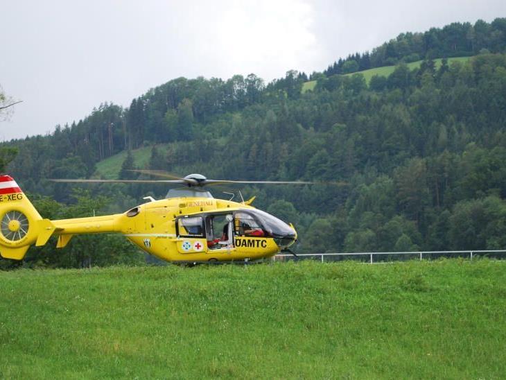 Auch der Notarzt Hubschrauber konnte den Mann nicht mehr retten.