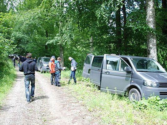 In diesem Waldstück suchte man vergeblich nach der verstorbenen Heidrun W.