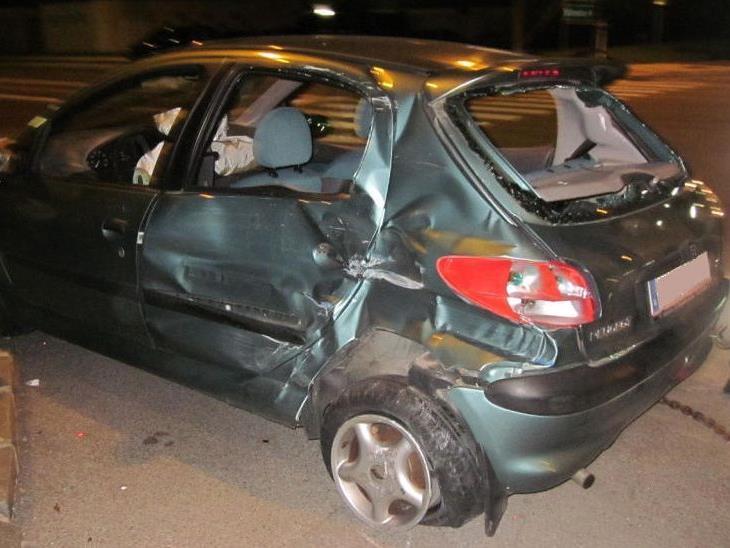 In Neunkirchen kam es in der Nacht auf Dienstag zu einem Verkehrsunfall.