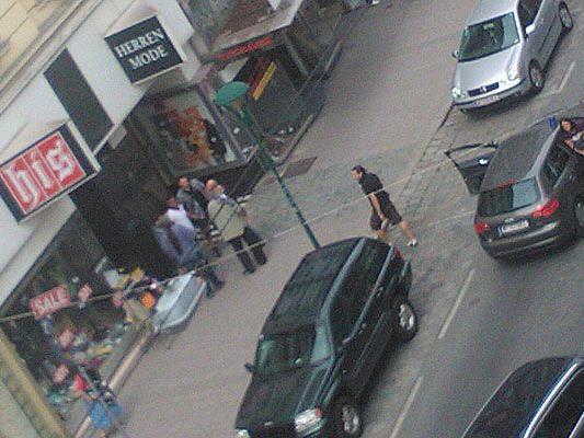 Auf der Landstraßer Hauptstraße gab es eine Festnahme