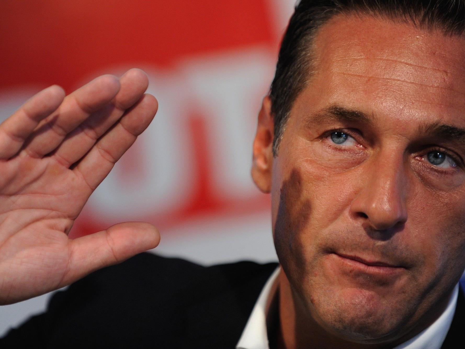 """Strache: """"Als oberster Hüter der Verfassung disqualifiziert""""."""