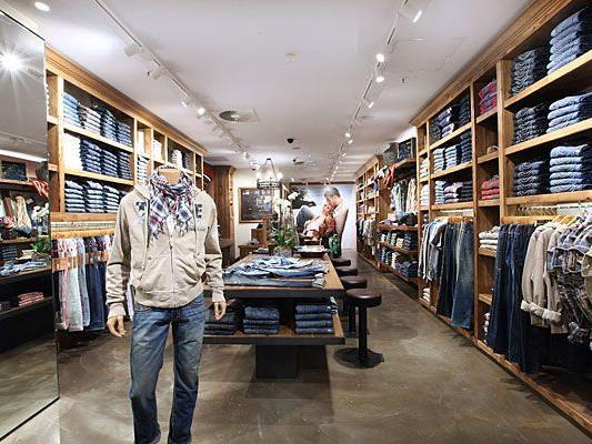 So wird der erste True Religion-Shop aussehen, der in Kürze auf der Brandstätte in der Wiener Innenstadt eröffnet