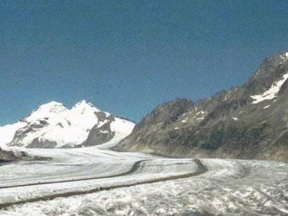 Gebiet des Aletschgletschers: Die Überreste wurden auf halbem Weg zwischen Konkordiaplatz und Märjelensee gefunden.