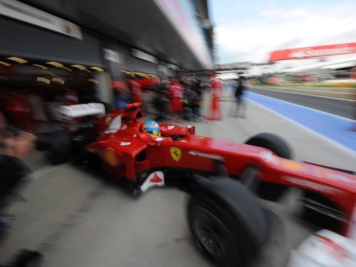 Alonso 0,153 Sekunden schneller als McLaren-Pilot Jenson Button.