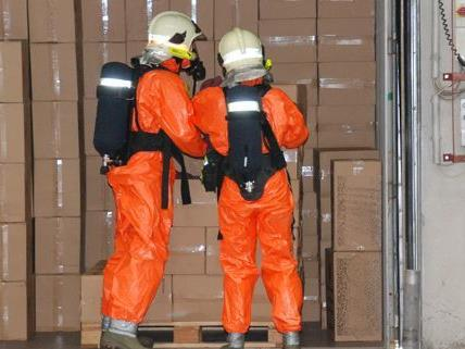Mehrere Stunden dauerte der Schadstoffeinsatz der Feuerwehr am Dienstag.