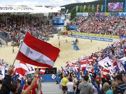 Die Top-Teams sehen den Beachvolleyball Grand Slam in Klagenfurtg als Olympia-Probe.