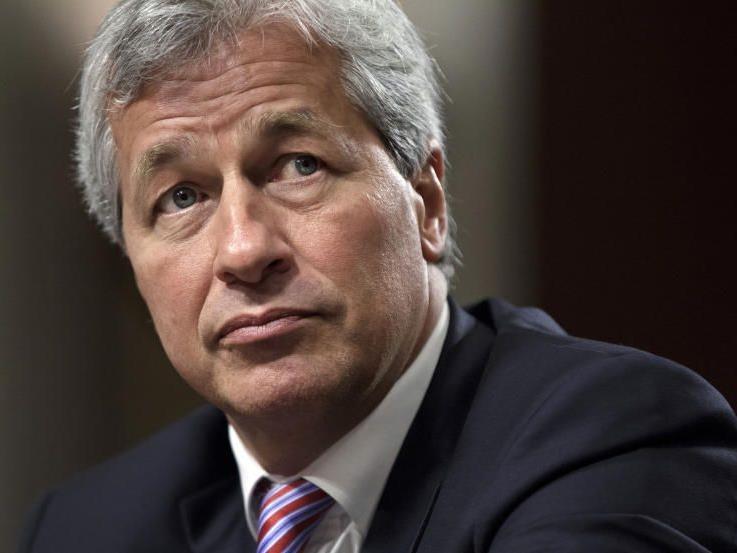 JP Morgan Boss Jamie Dimon