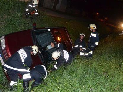 Am Freitag kam es zu dem Unfall im Bezirk Neunkirchen, der Fahrer blieb unverletzt.