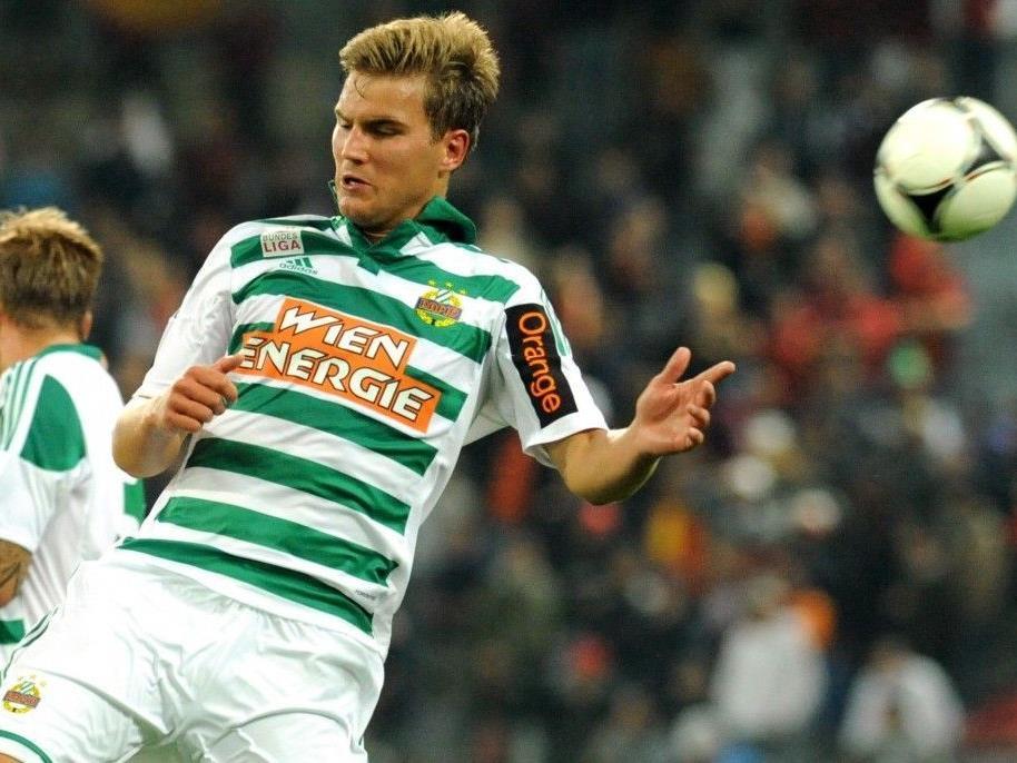 Lukas Grozurek bleibt im Europa League-Spiel gegen Novi Sad zu Hause.