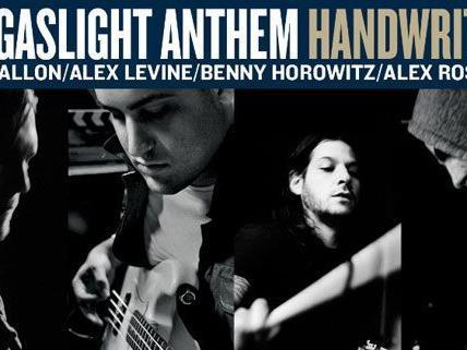 """""""Hangeschriebenes"""" von Gaslight Anthem: Das neue Album."""