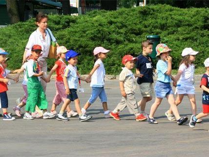 Im Sommer haben Wiens Kindergärten großteils offen.