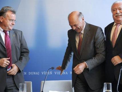 Gut gelaunt präsentierten die drei Landeshauptleute am Mittwoch die Studienergebnisse in Wien.