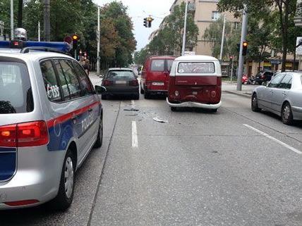 Unfall am Samstagmorgen in Wien-Meidling.