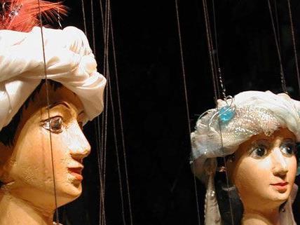 Am 28. Juli zeigt das Marionettentheater Schönbrunn Aladdin.