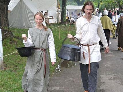 Ein ganz besonderes Erlebnis war der Mittelaltermarkt im Heeresgeschichtlichen Museum.
