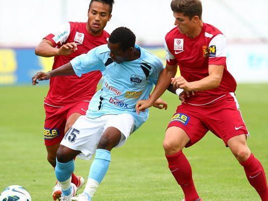 Der FC Admira Wacker Mödling traf am Samstag auf den FC Nitra.