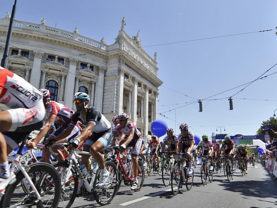 Die Schlussetappe der Österreich radrundfahrt findet am 8. Juli in Wien statt.