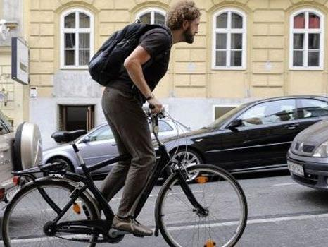 Über die Einführung von Fahrradkennzeichen sollte man laut Häupl nachdenken.
