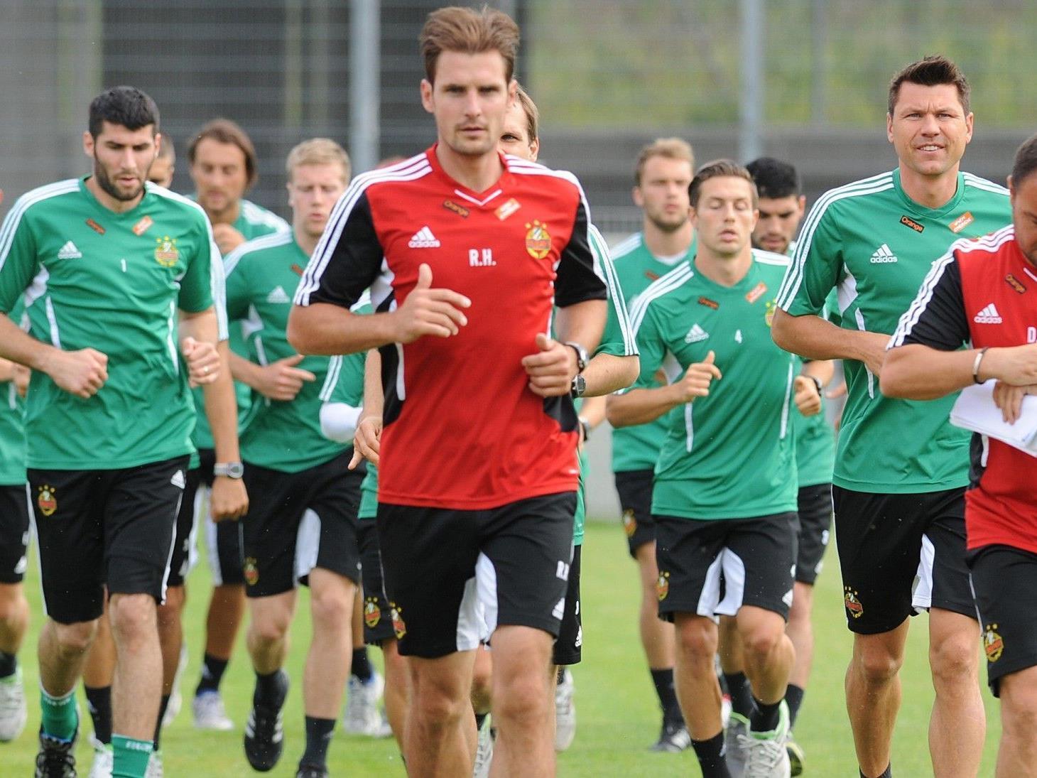 Am Dienstag geht es für Rapid gegen AS Roma.