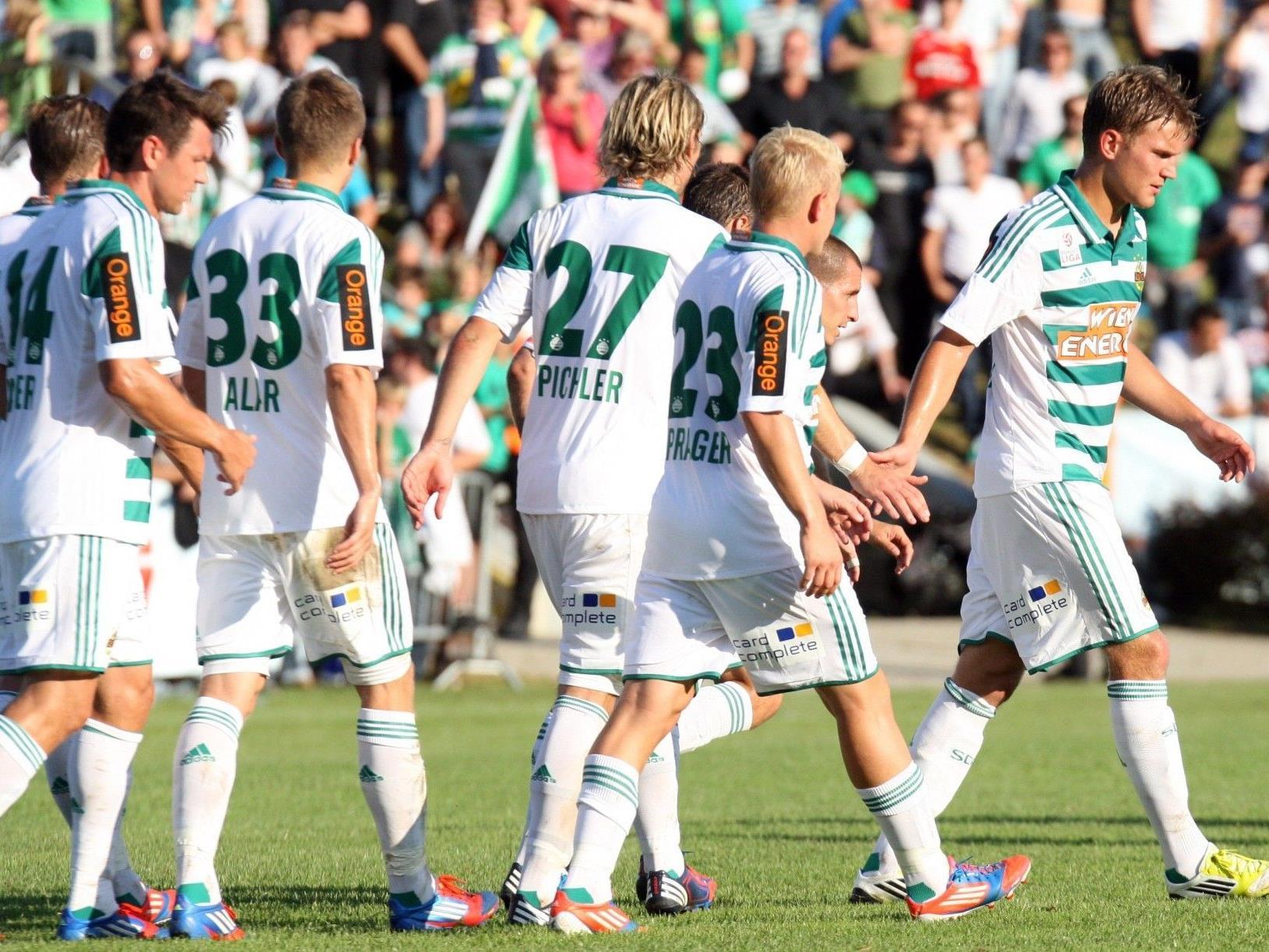 Rapid trifft in der Europa League-Quali auf Novi Sad oder Suduva Marijampole.