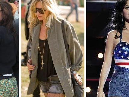 Kristen Stewart, Kate Moss und Katy Perry lieben den Festival Chic.