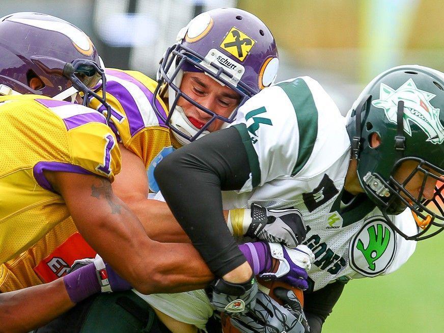 Die Raiffeisen Vikings stehen erneut in der Austrian Bowl.