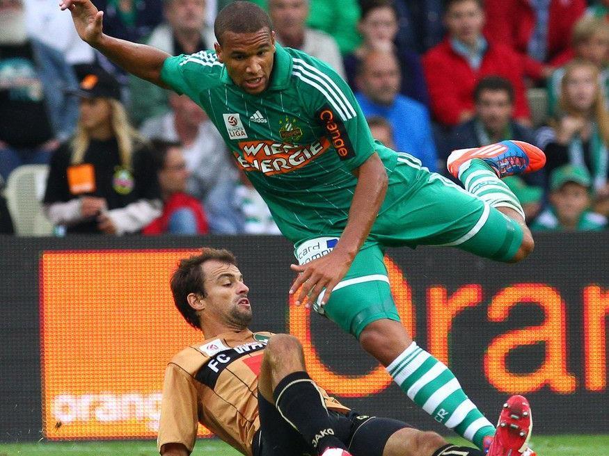 Rapid gegen Innsbruck: Boyd zeigte vollen Einsatz