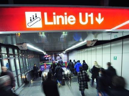 Ab Samstag fährt die U1 nicht mehr zwischen Schwedenplatz und Reumannplatz.