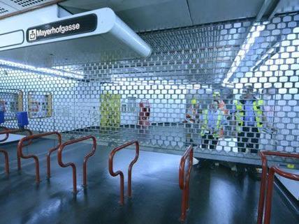 Während der U1-Teilsperre nutzen die Fahrgäste verstärkt die Linien U2 und U4.