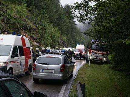 Schwerer Verkehrsunfall am Freitag auf der B21.