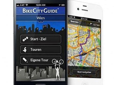 BikeCityGuide ist eine Navigations App für Smartphones